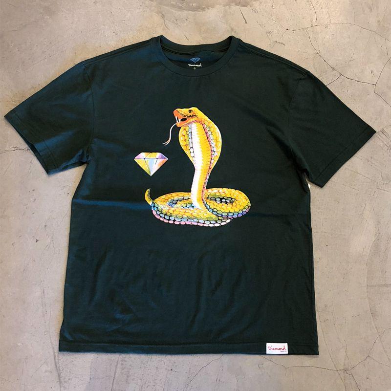 "Camiseta Diamond ""Cobra"" Verde"