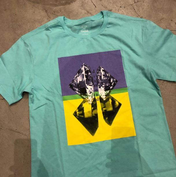 "Camiseta Diamond ""Duplicated"" Tiffany"