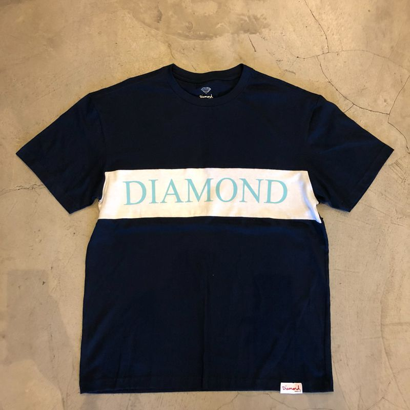 "Camiseta Diamond ""Elliot"" Azul/Branco"