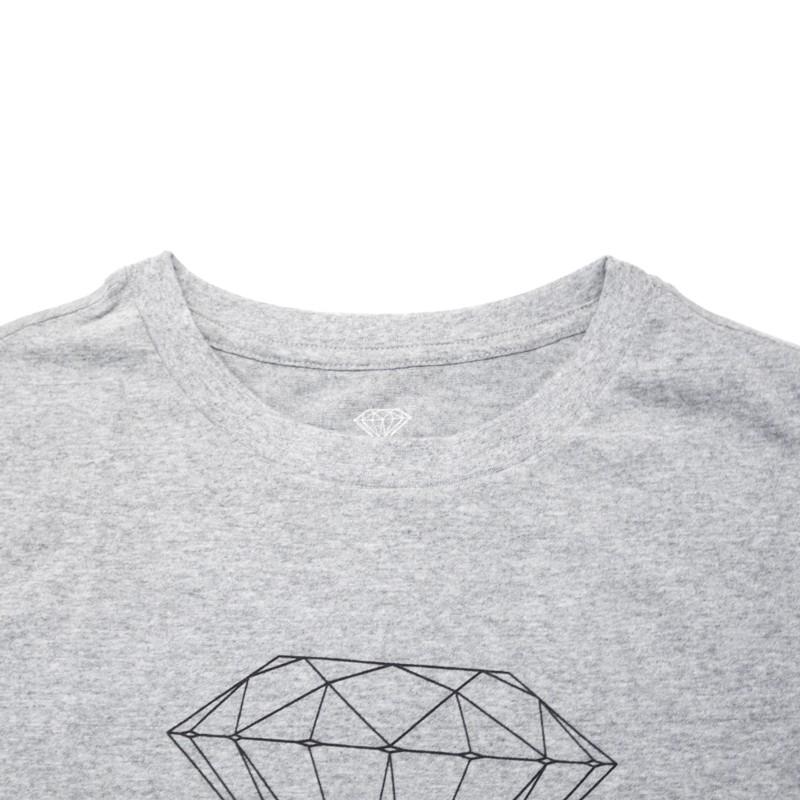 "Camiseta Diamond ""Futura Sign tee"" Cinza"