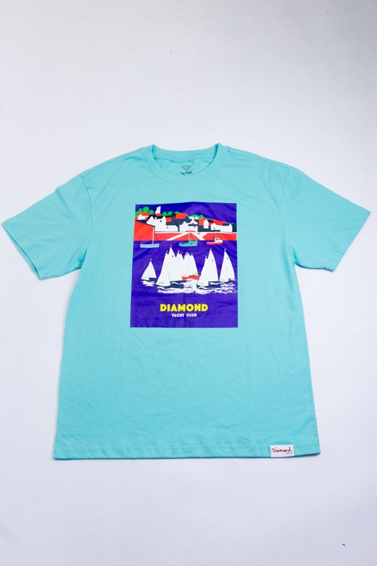 "CAMISETA DIAMOND ""HARBOR"" AZUL"