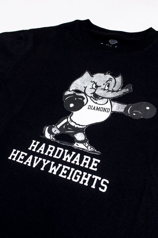 "CAMISETA DIAMOND ""HEAVY WEIGHT MASCOT"" PRETA"