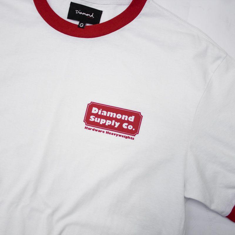 "Camiseta Diamond ""Heavyweights"" Branca"