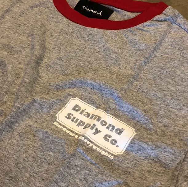 "Camiseta Diamond ""Heavyweights"" Cinza"