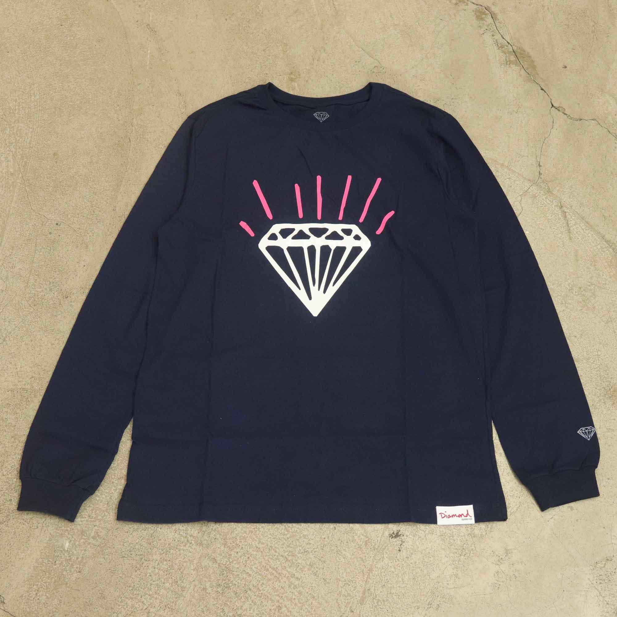 Camiseta Diamond Manga Longa