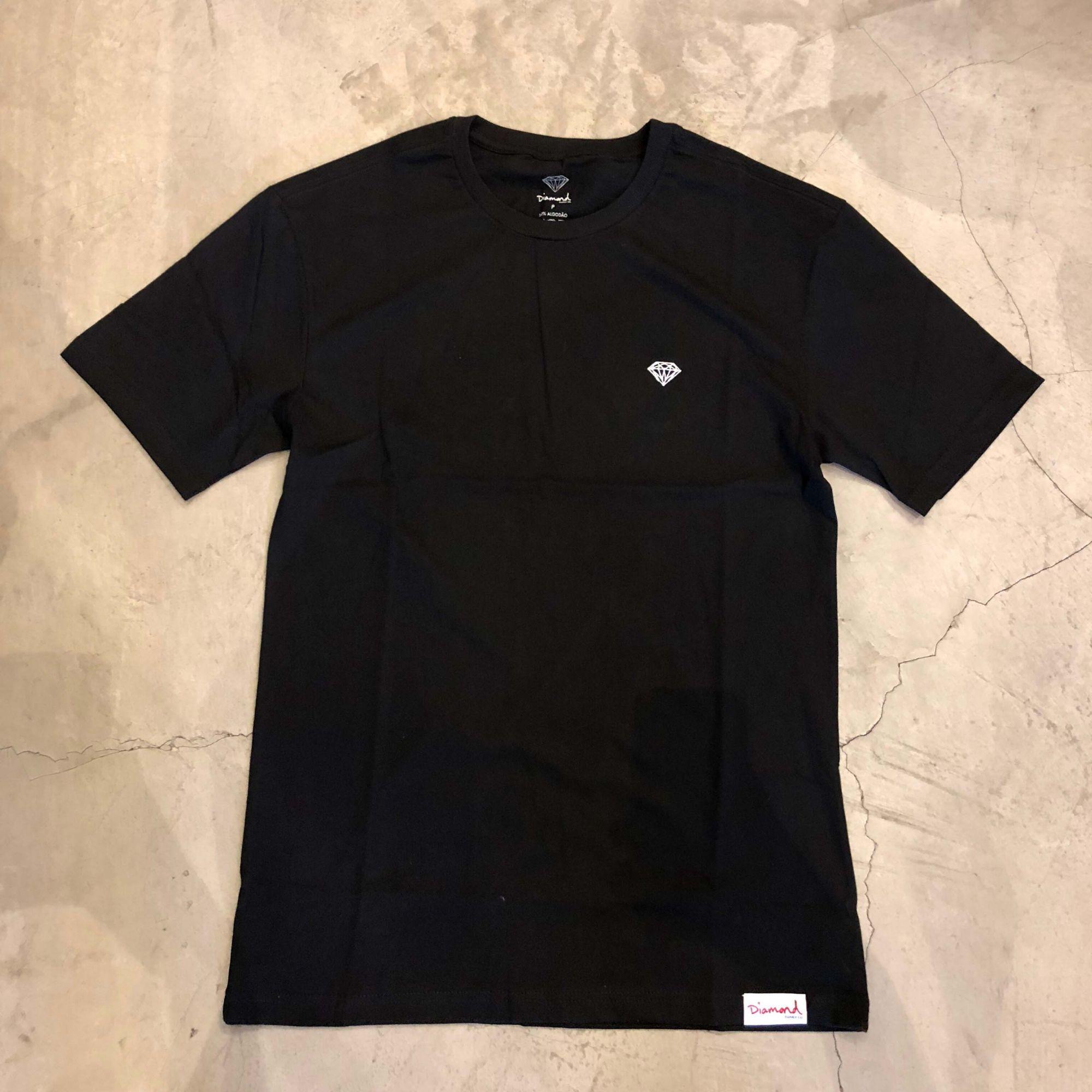 """Camiseta Diamond """"Mini Brilliant"""" Preta"""