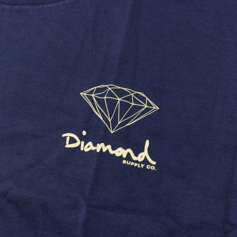 "Camiseta Diamond ""Mini OG Sign"" Azul"