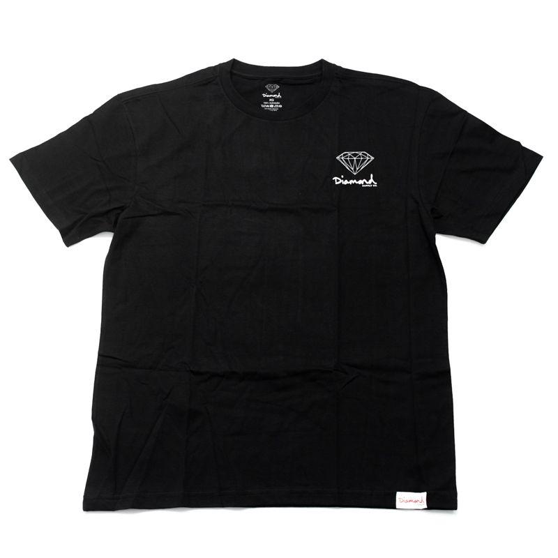"Camiseta Diamond ""Mini OG Sign"" Preta"