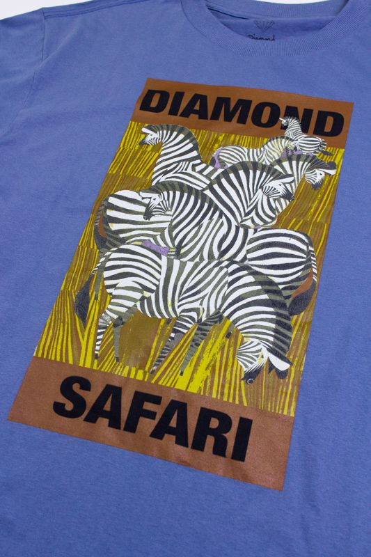 "CAMISETA DIAMOND ""SAFARI"" AZUL"