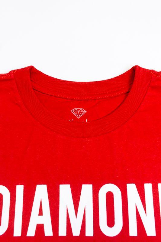 "CAMISETA DIAMOND ""STRIKE"" VERMELHA"