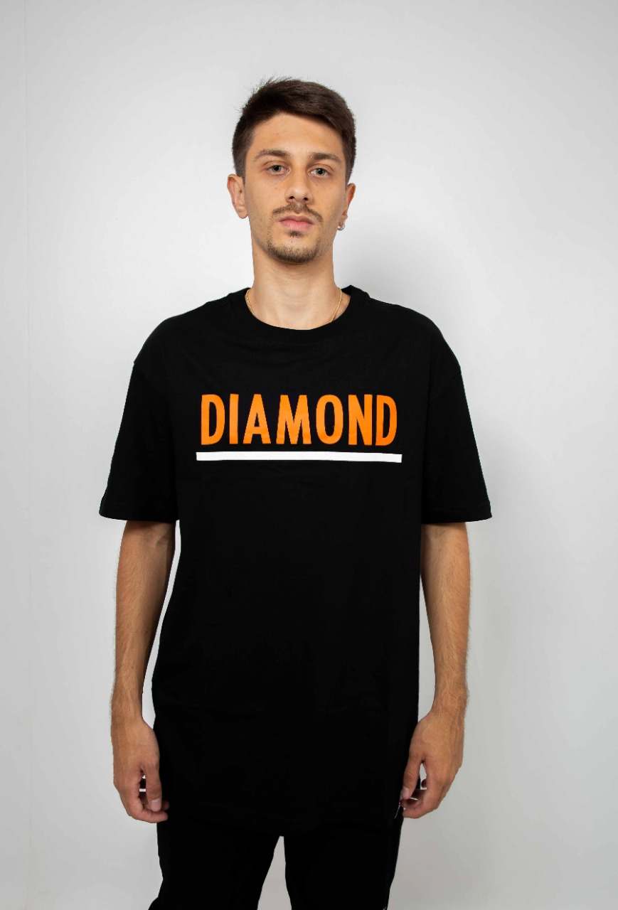 Camiseta Diamond Team Preto