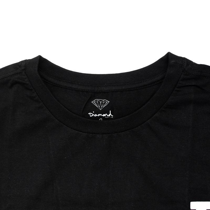 "Camiseta Diamond ""d"" Preta"