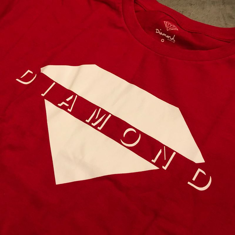 "Camiseta Diamond ""Viewpoint"" Vermelha"