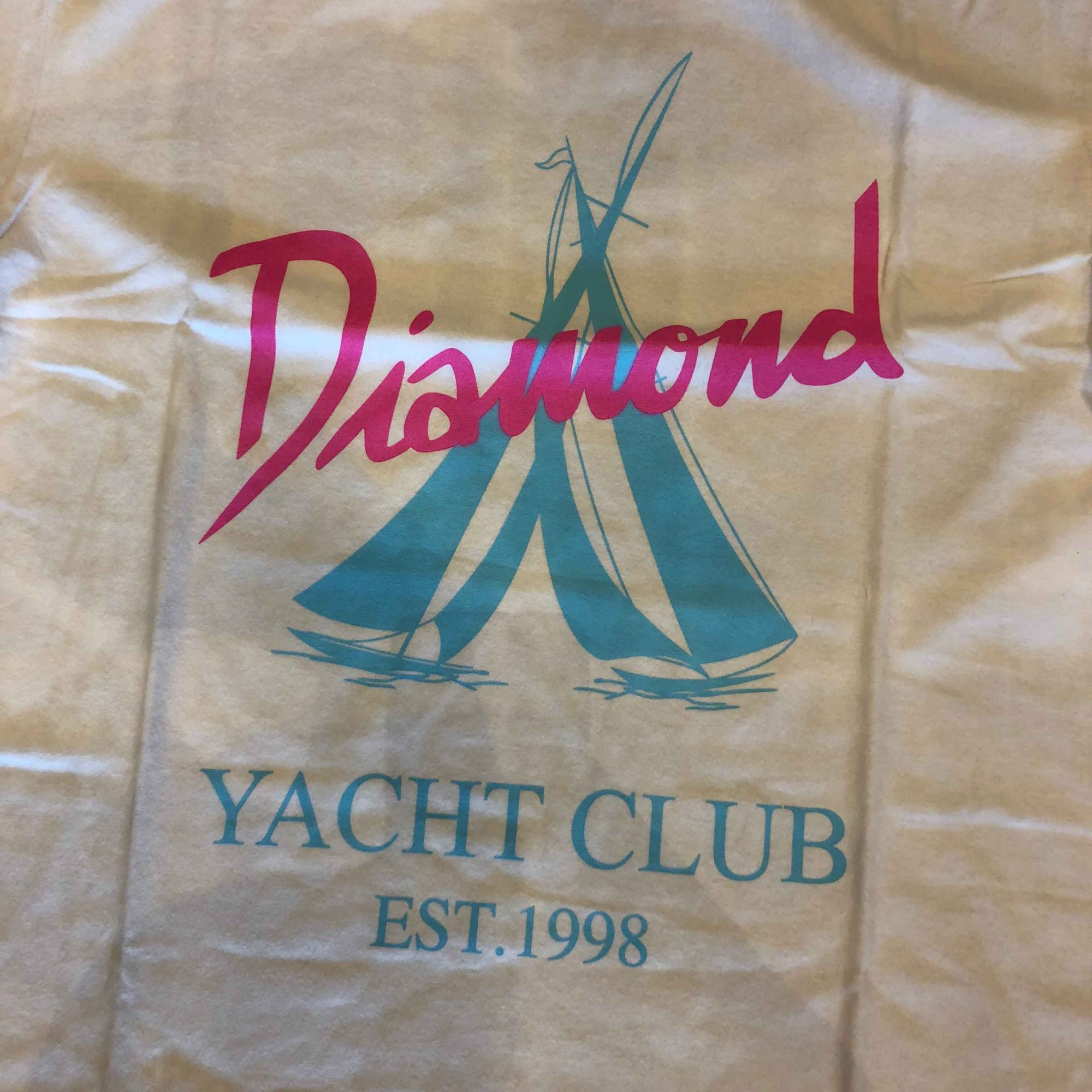 "Camiseta Diamond ""Voyage"" Branca"