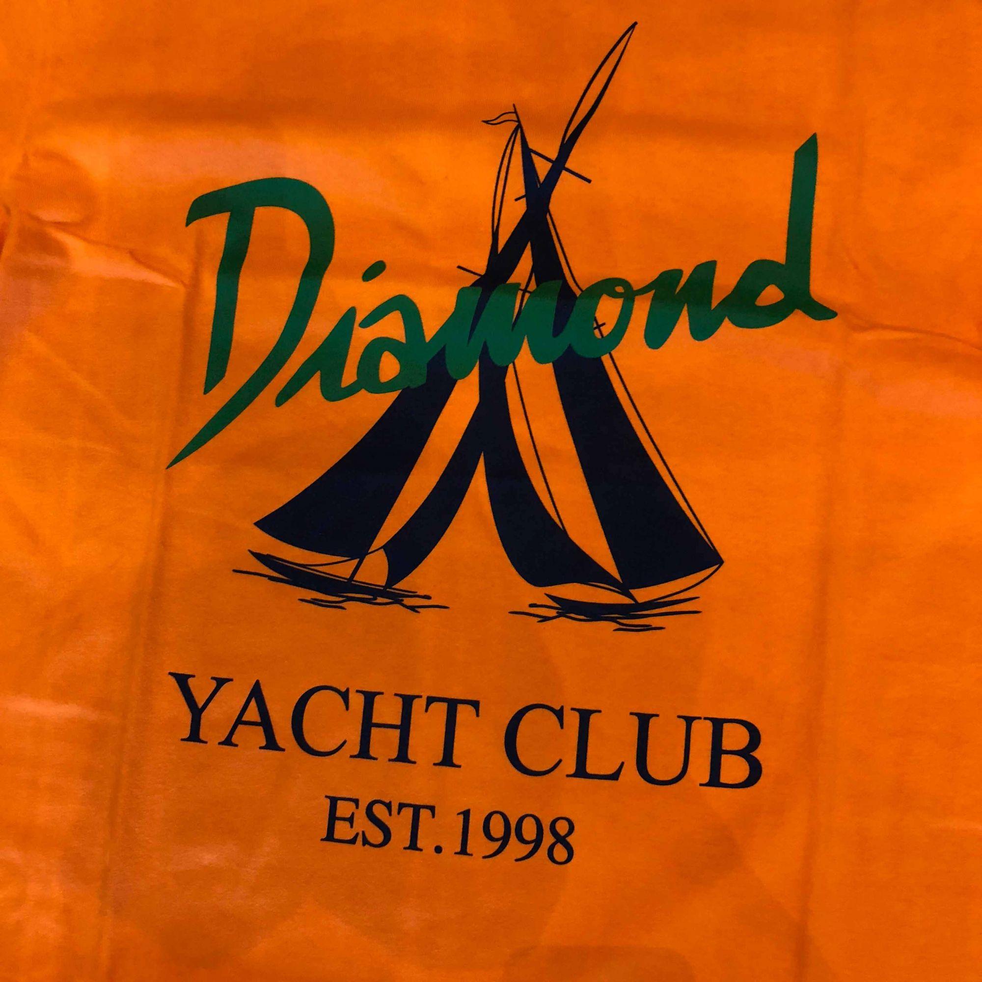 "Camiseta Diamond ""Voyage"" Laranja"