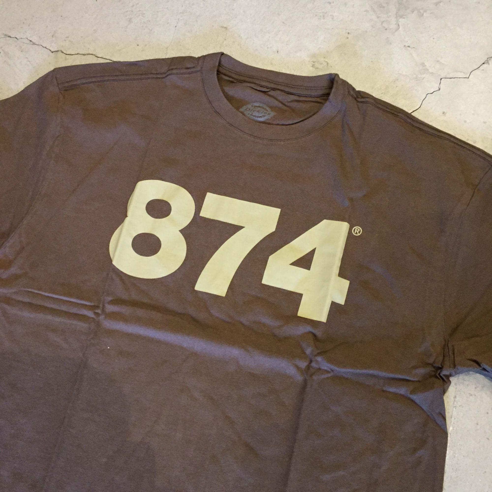 "Camiseta Dickies ""874"" Marrom"