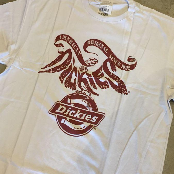 "Camiseta Dickies ""Eagle"" Branca"