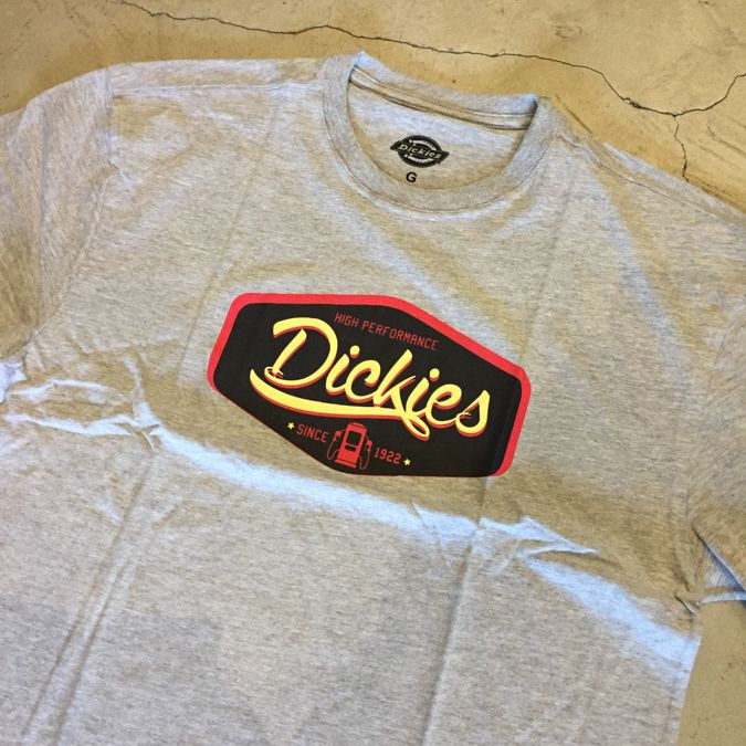 """Camiseta Dickies """"Gas"""" Cinza"""