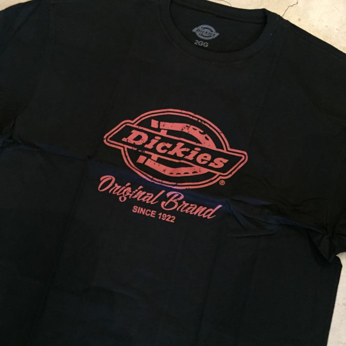 "Camiseta Dickies ""Original Brand"" Preta"
