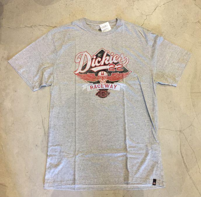 """Camiseta Dickies """"Raceway"""" Cinza"""