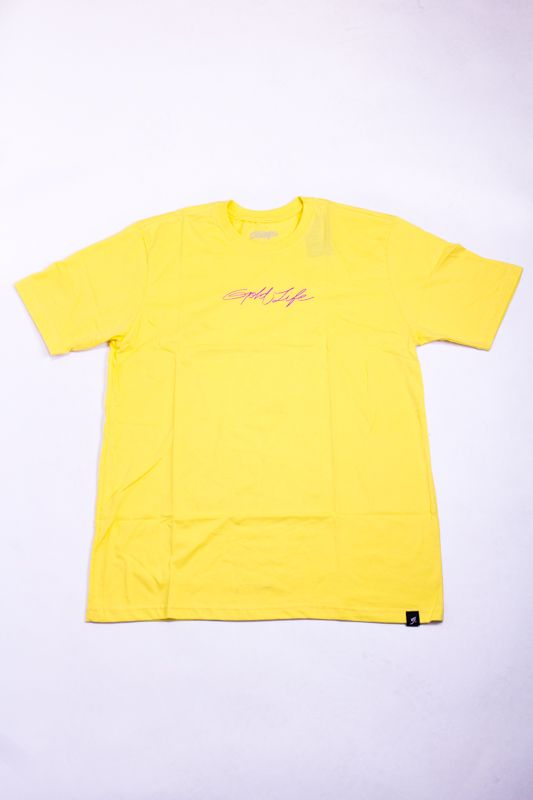 "CAMISETA GOLD LIFE ""COLORS"" AMARELA"