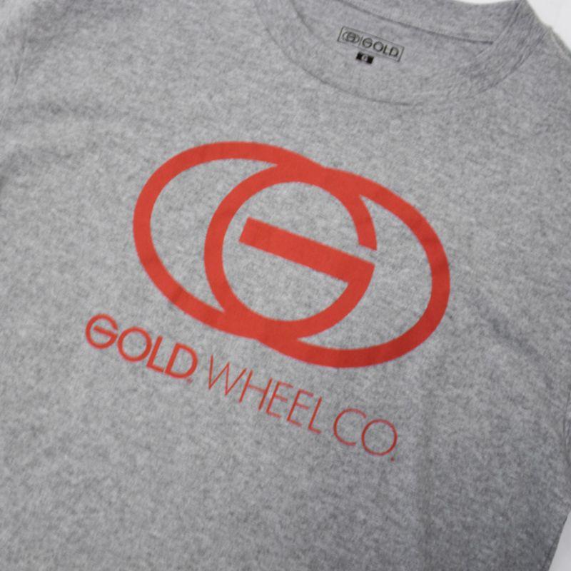 "Camiseta Gold ""Sign"" Cinza"