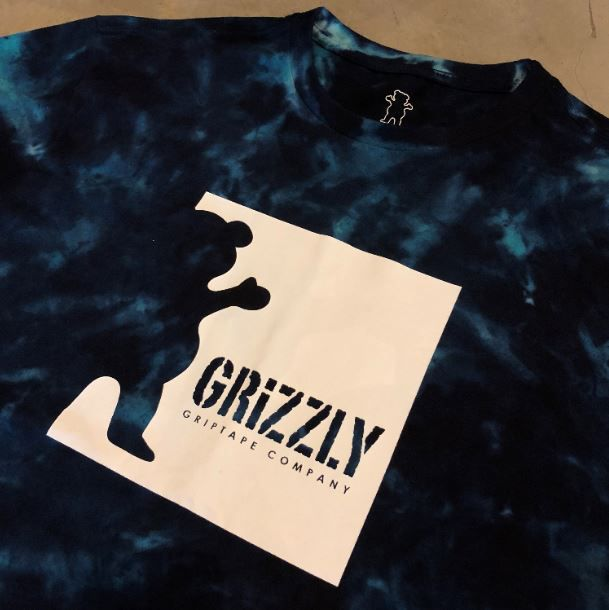 "Camiseta Grizzly ""Deep Water"" Tie Dye"