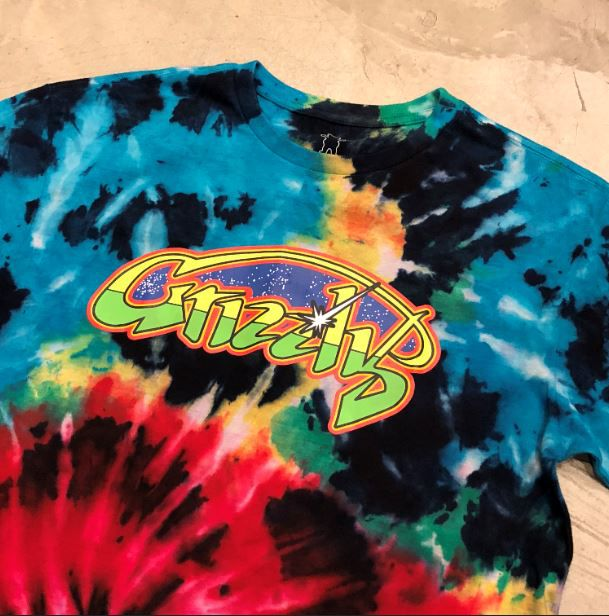 "Camiseta Grizzly ""Galactic Frontier"" Tie Dye"