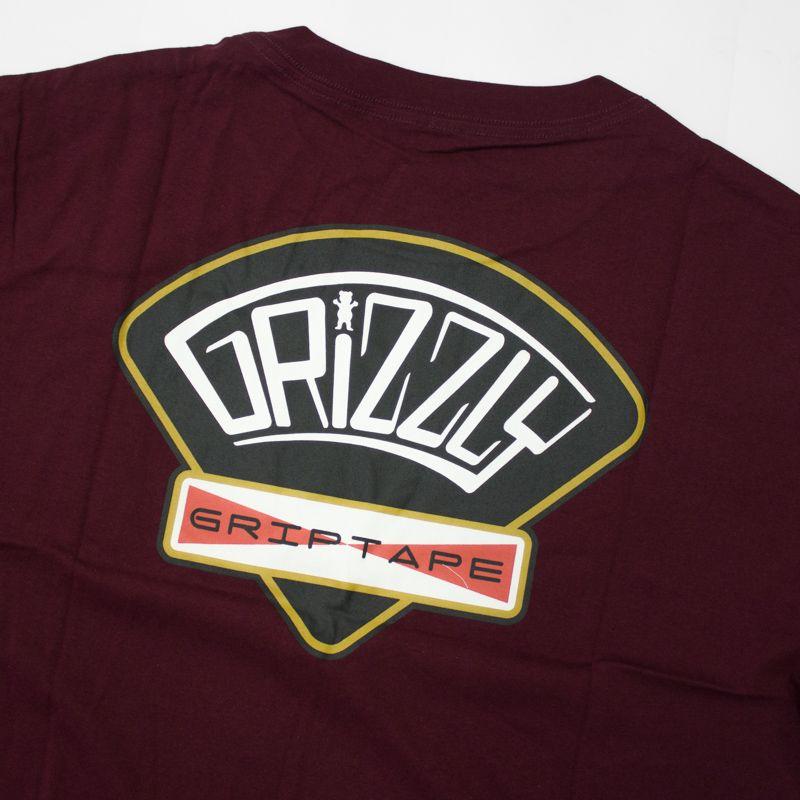 "Camiseta Grizzly ""G&C Classic"" Bordô"