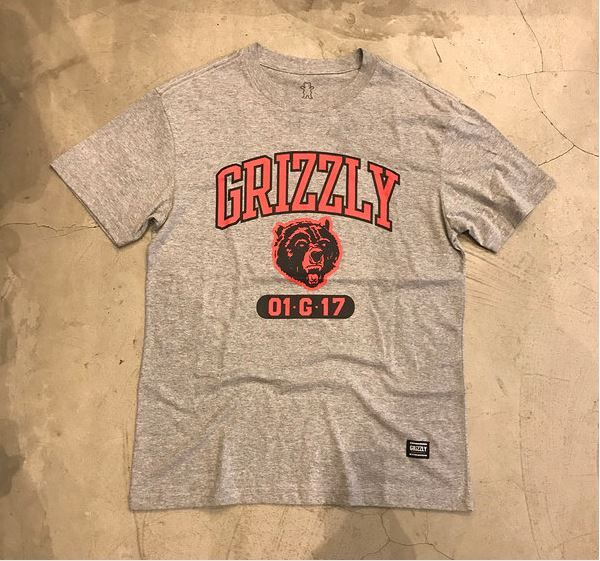 """Camiseta Grizzly """"Halftime"""" Cinza"""