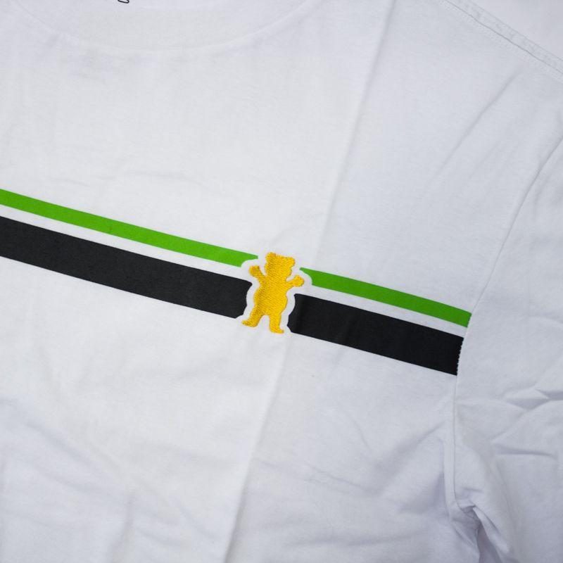 "Camiseta Grizzly ""Mainline"" Branco"