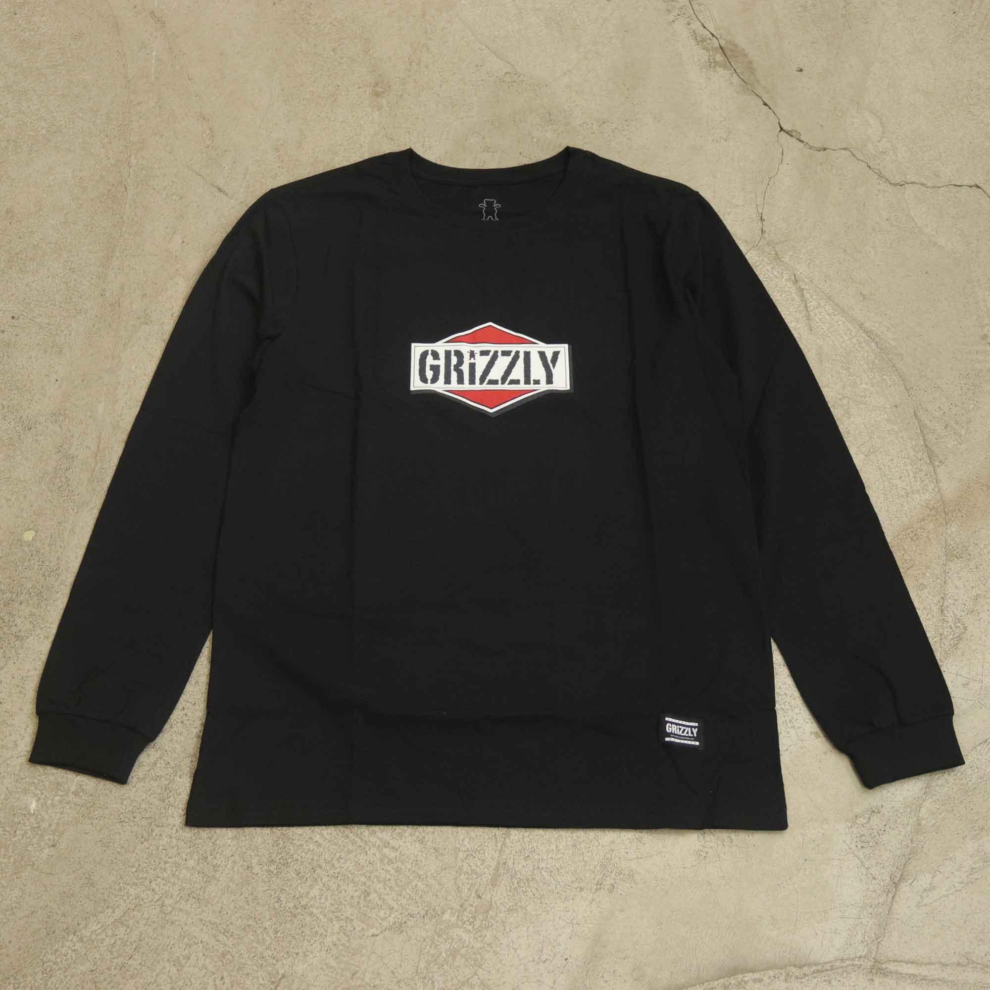 Camiseta Grizzly Manga Longa