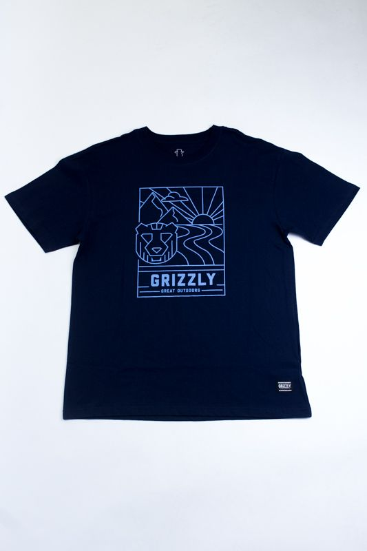 "CAMISETA GRIZZLY ""MMI ATHLETICS"" AZUL"