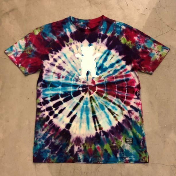 "Camiseta Grizzly ""Nice Trip OG Bear"" Tie Dye"
