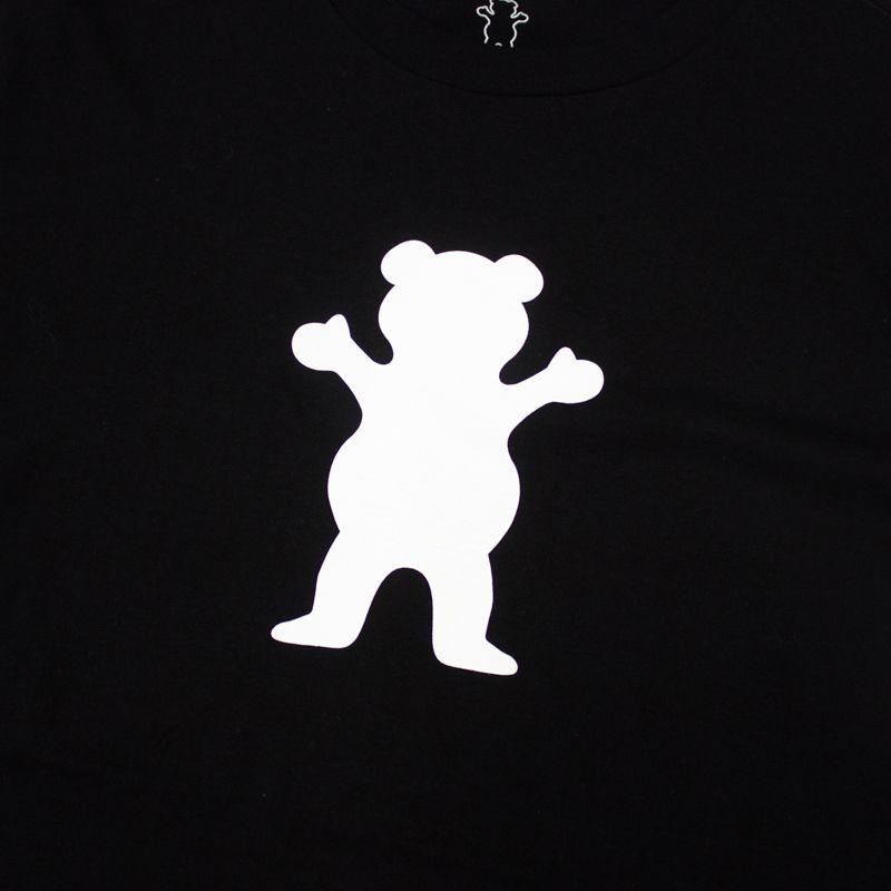 "Camiseta Grizzly ""OG Bear Logo"" Preta"