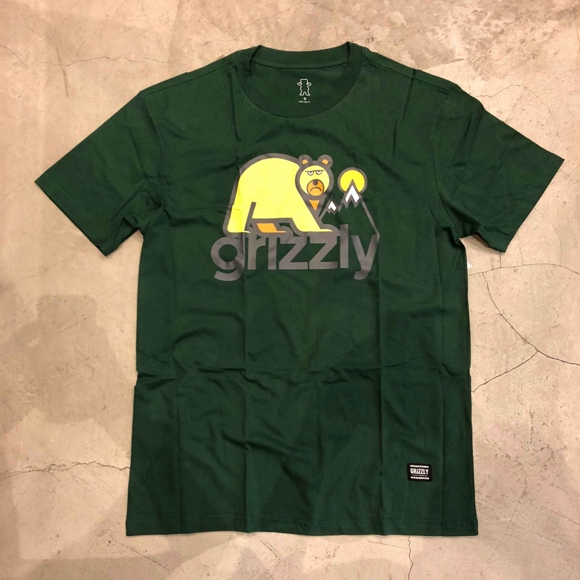 "Camiseta Grizzly ""Polar Bear"" Verde"