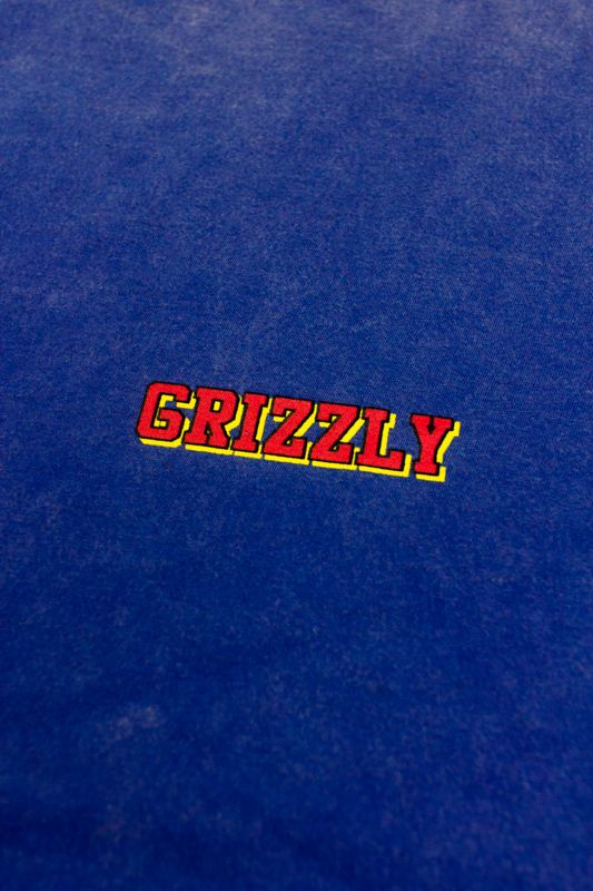 "CAMISETA GRIZZLY ""REFLECT OG"" AZUL CLARO ESPECIAL"