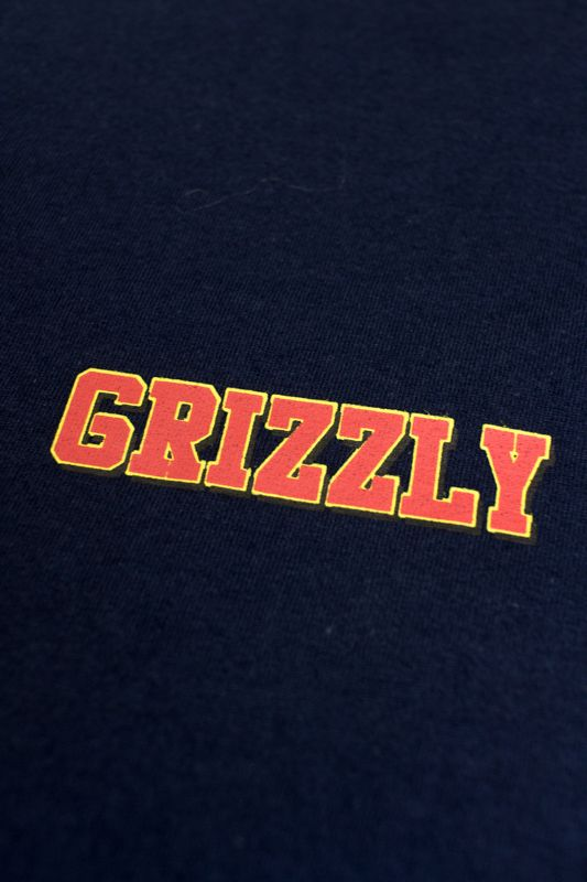 "CAMISETA GRIZZLY ""REFLECT OG"" AZUL ESCURO"