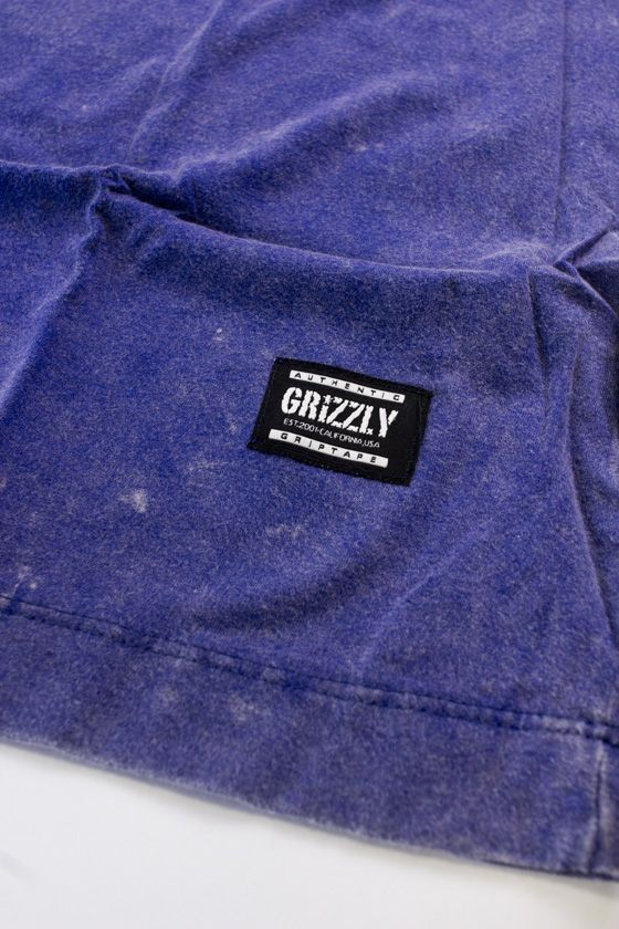 "CAMISETA GRIZZLY ""REFLECT OG"" AZUL ESPECIAL"