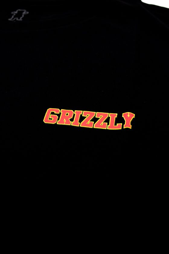 "CAMISETA GRIZZLY ""REFLECT OG"" PRETA"