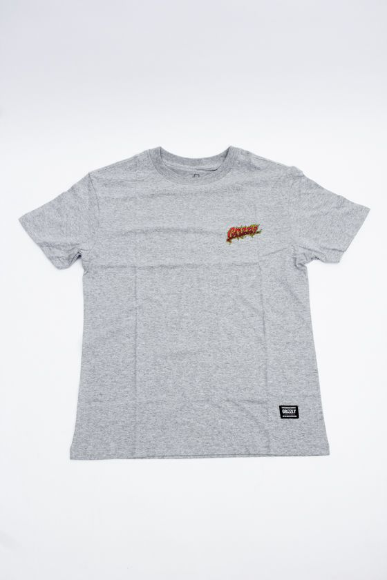 """CAMISETA GRIZZLY """"RIPPIN"""" CINZA"""