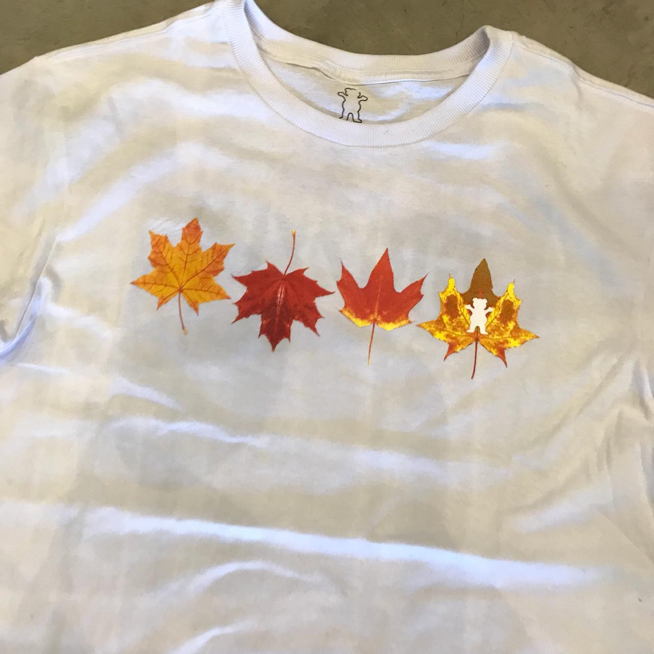 "Camiseta Grizzly ""Seasonal"" Branca"
