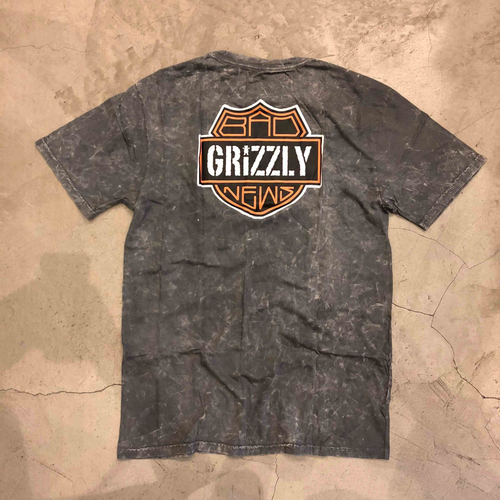 "Camiseta Grizzly ""Street Glide"" Especial Cinza"