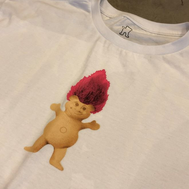"Camiseta Grizzly ""Troll OG Bear"" Branca"