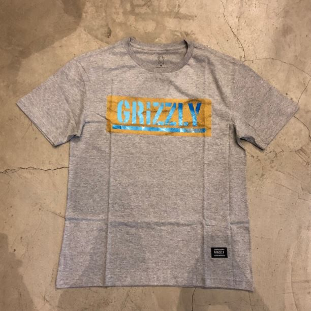"""Camiseta Grizzly """"Washed Up"""" Cinza"""