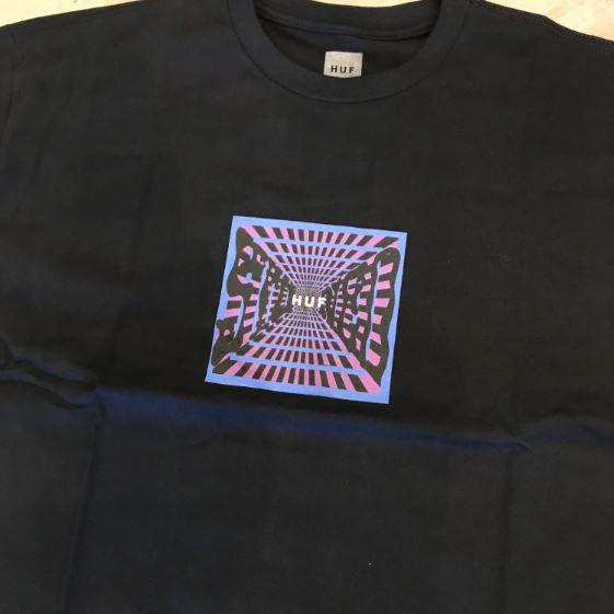 "Camiseta HUF ""Stoned"" Preta"