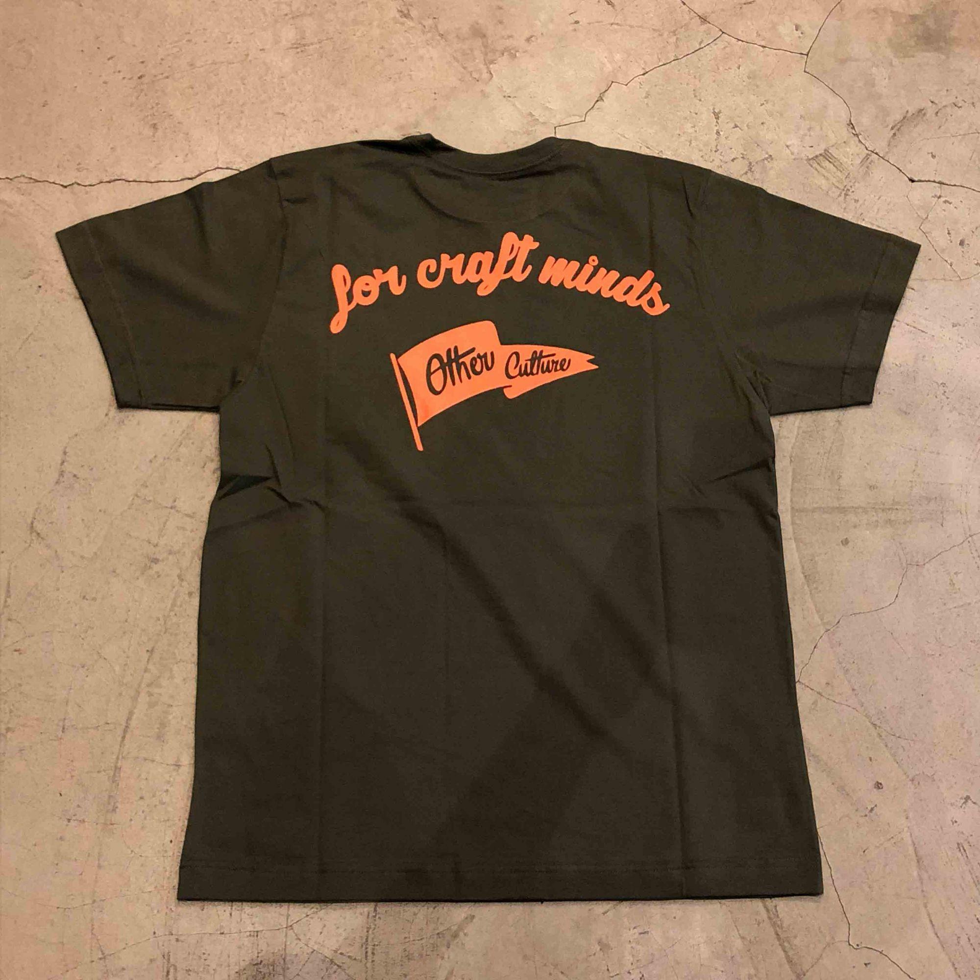 "Camiseta Other Culture "" For Craft Minds "" Verde"
