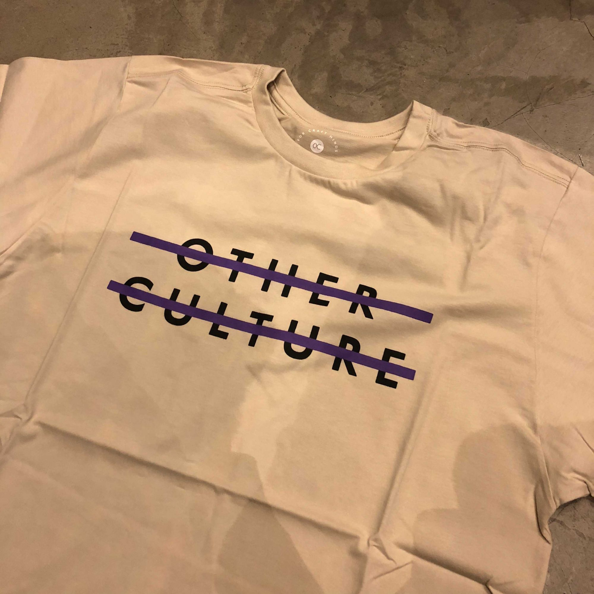 "Camiseta  Other Culture "" Sign "" Creme"