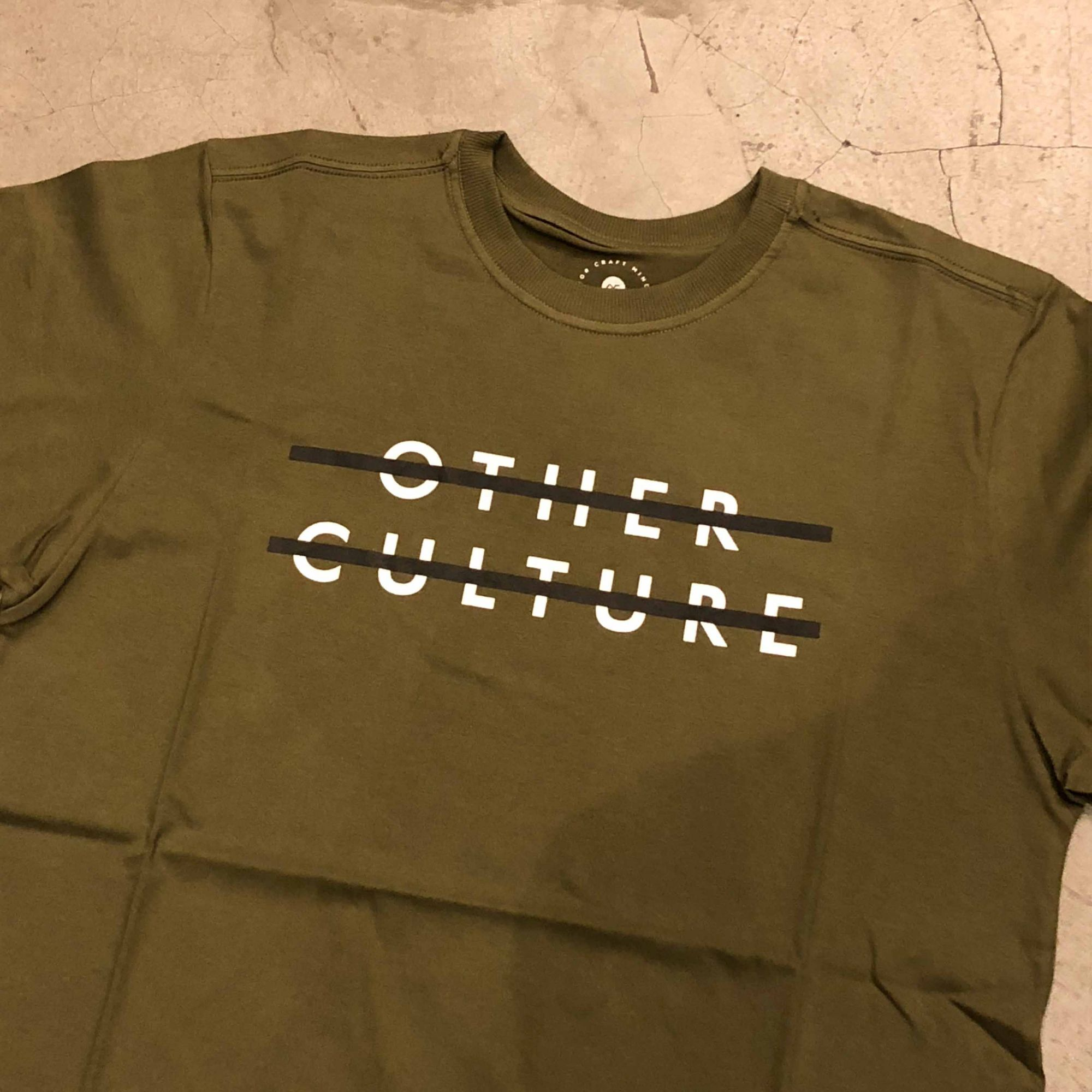 "Camiseta  Other Culture "" Sign "" Verde"