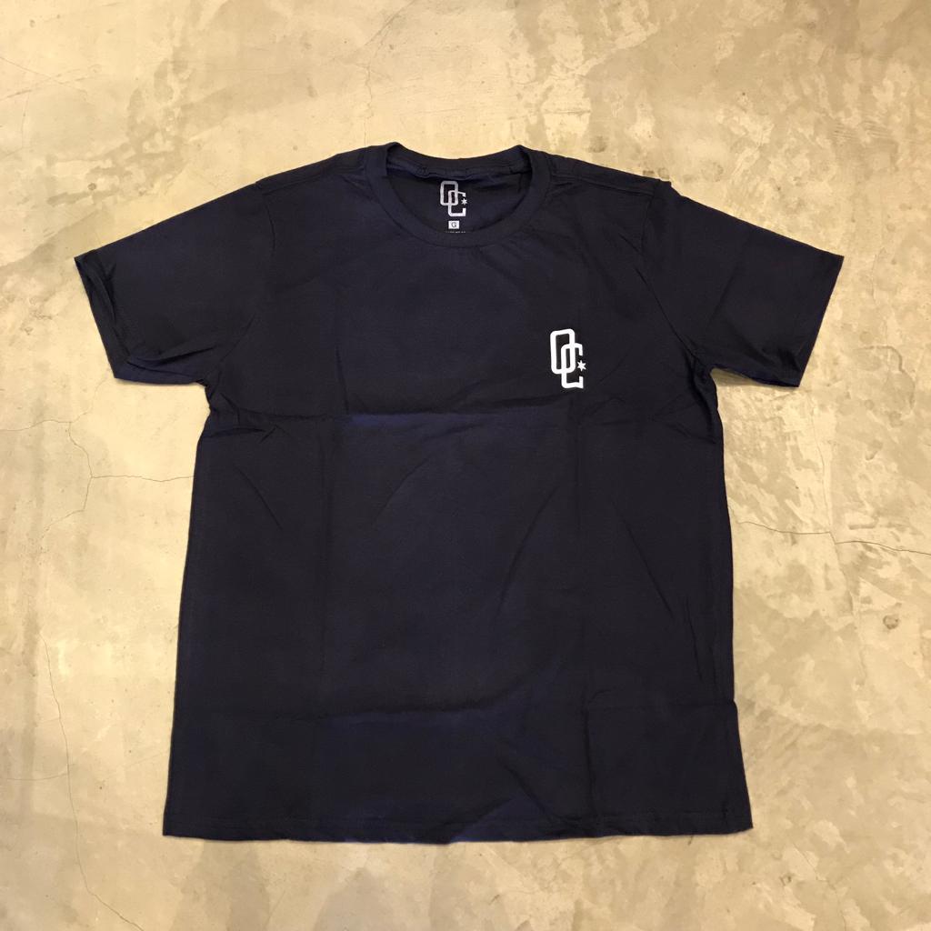 "Camiseta Overcome Co ""100"" Azul Marinho"